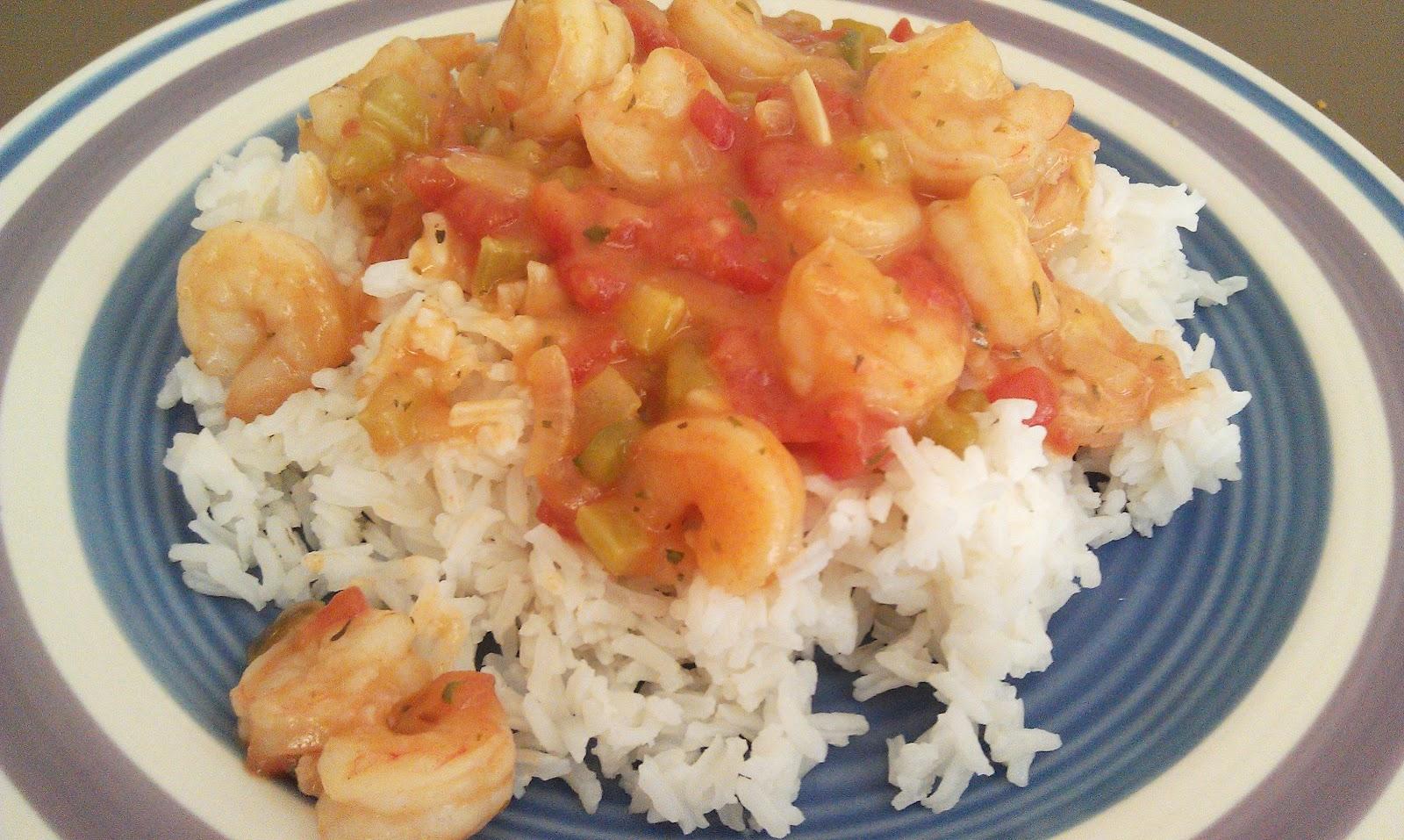 Shrimp Etouffée