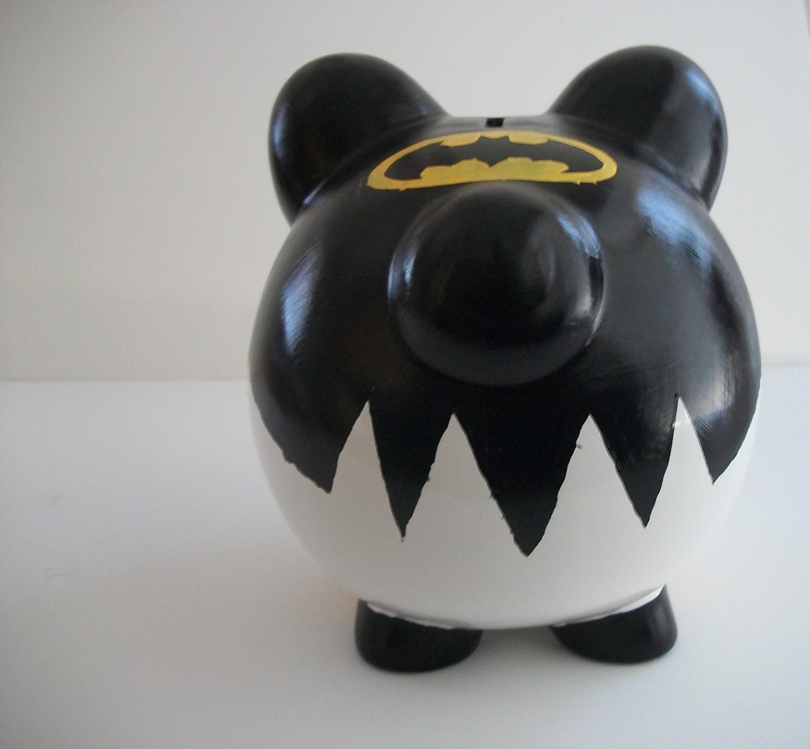 batman piggy bank
