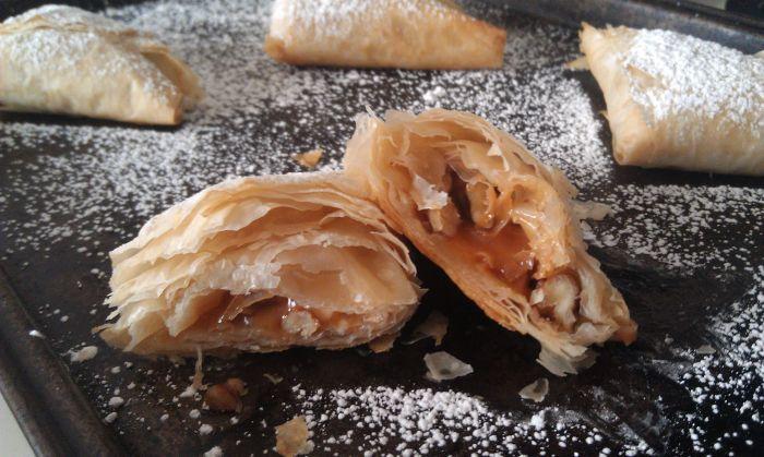 Caramel Apple Pie Triangles 6
