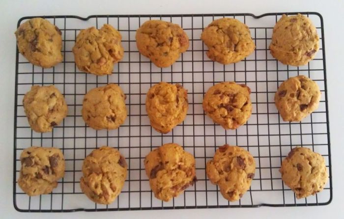 Pumpkin Butterfinger Cookies 1