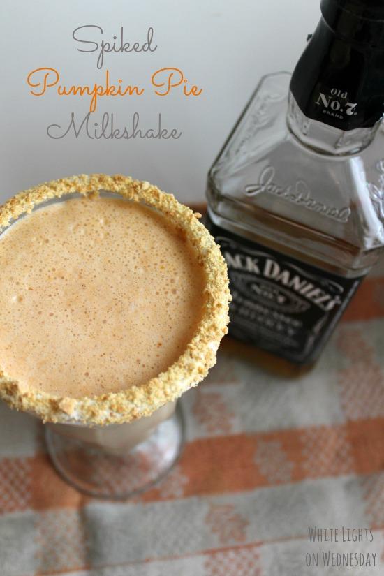 Spiked Pumpkin Pie Milkshake 1