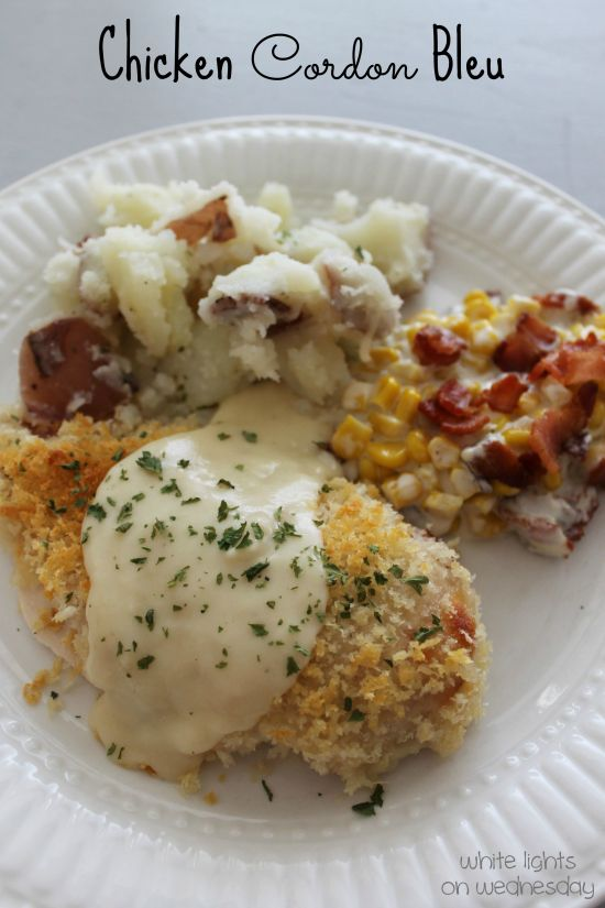 Chicken Cordon Bleu 5