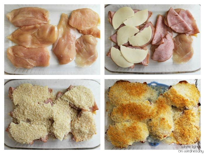Chicken Cordon Bleu | White Lights on Wednesday