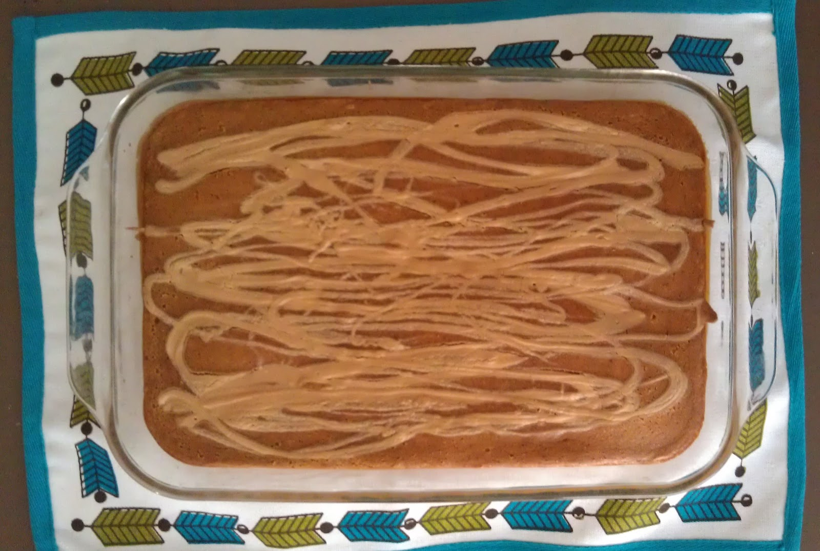 Pumpkin Peanut Butter Swirl Bars