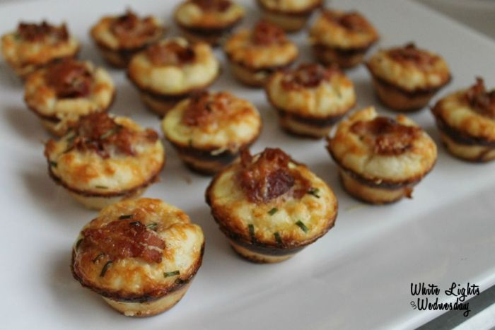 Bacon Parmesan Mini Muffins 3