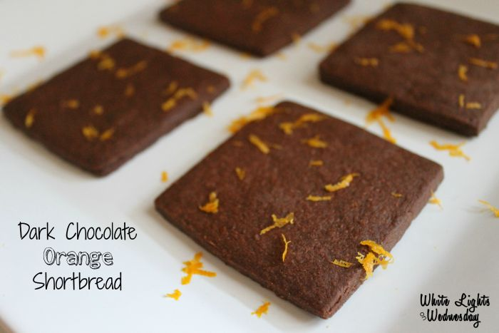 Dark Chocolate Orange Shortbread ~ The Great Food Blogger Cookie Swap ...