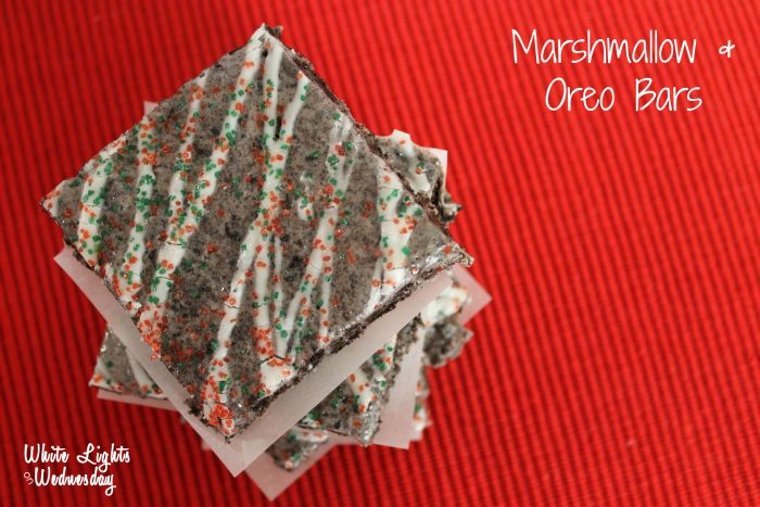 Marshmallow Oreo Bars 1