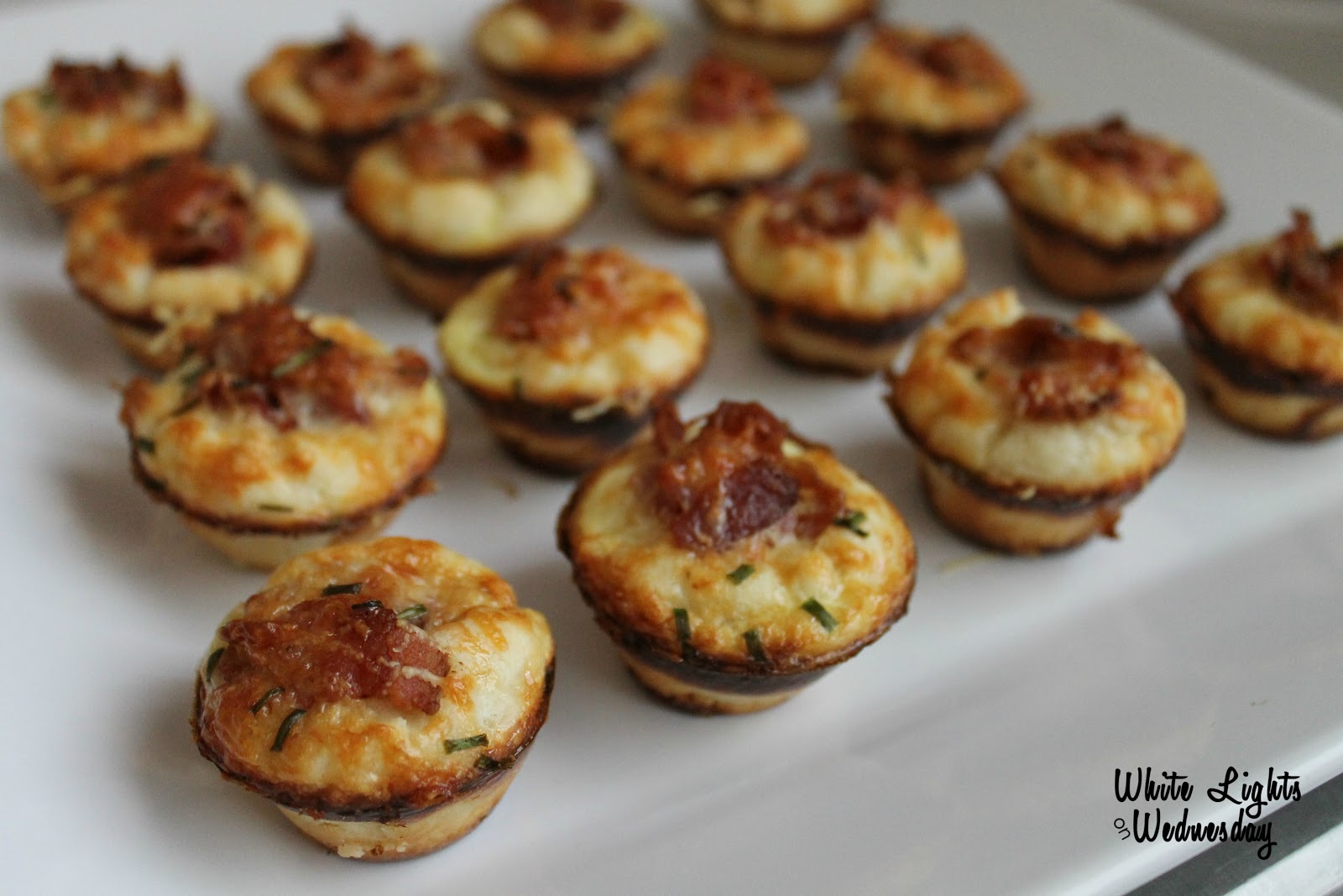 Bacon-Parmesan Mini Muffins
