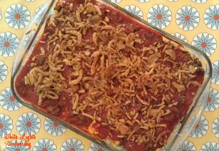 Creamy Baked Spaghetti 1