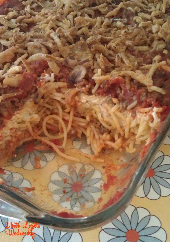 Creamy Baked Spaghetti 2