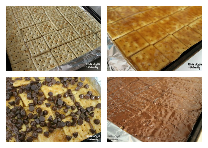 Saltine Cracker Toffee | White Lights on Wednesday