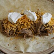 Crock Pot Carne Asada for Burritos