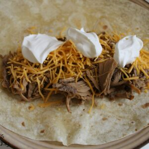 Crock Pot Burritos 1