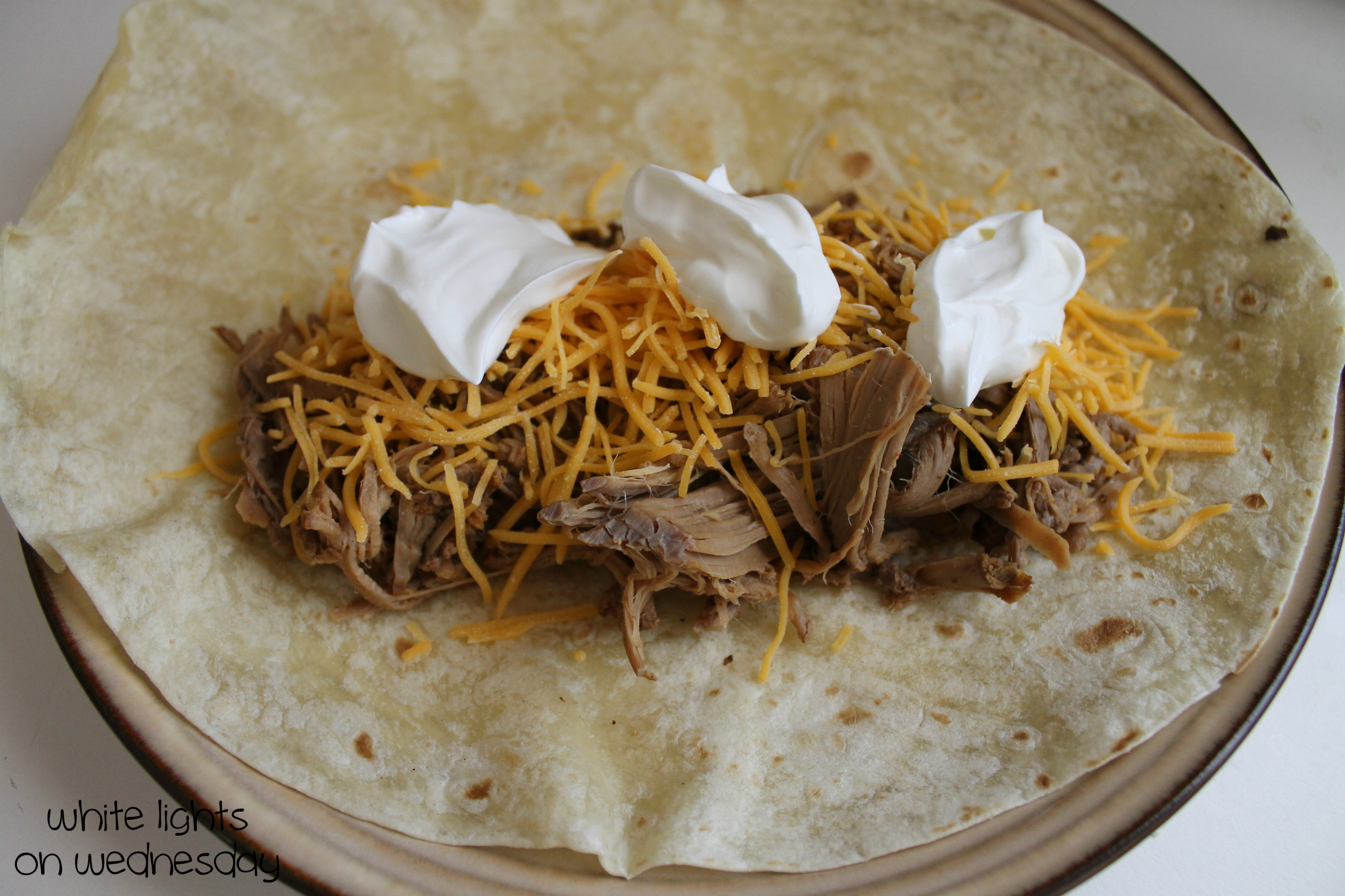 Crock Pot Carne Asada for Burritos