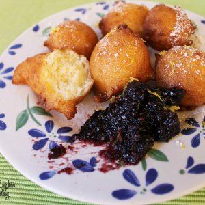 Lemon Ricotta Fritters