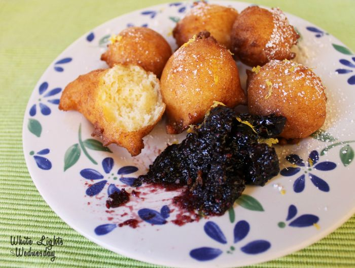 Lemon Ricotta Fritters 1