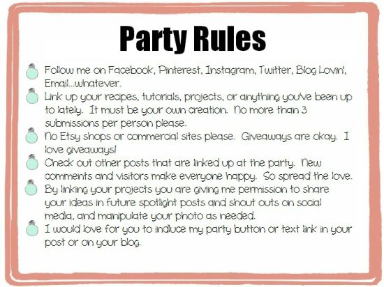 Link Party Rules 2