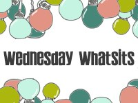 Wednesday Whatsits Button