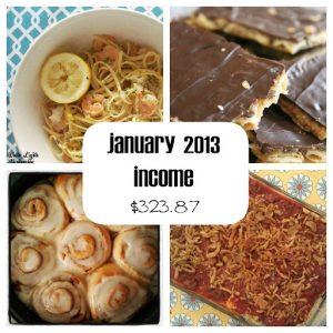 Jan 2013 income
