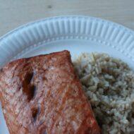 Asian Baked Salmon