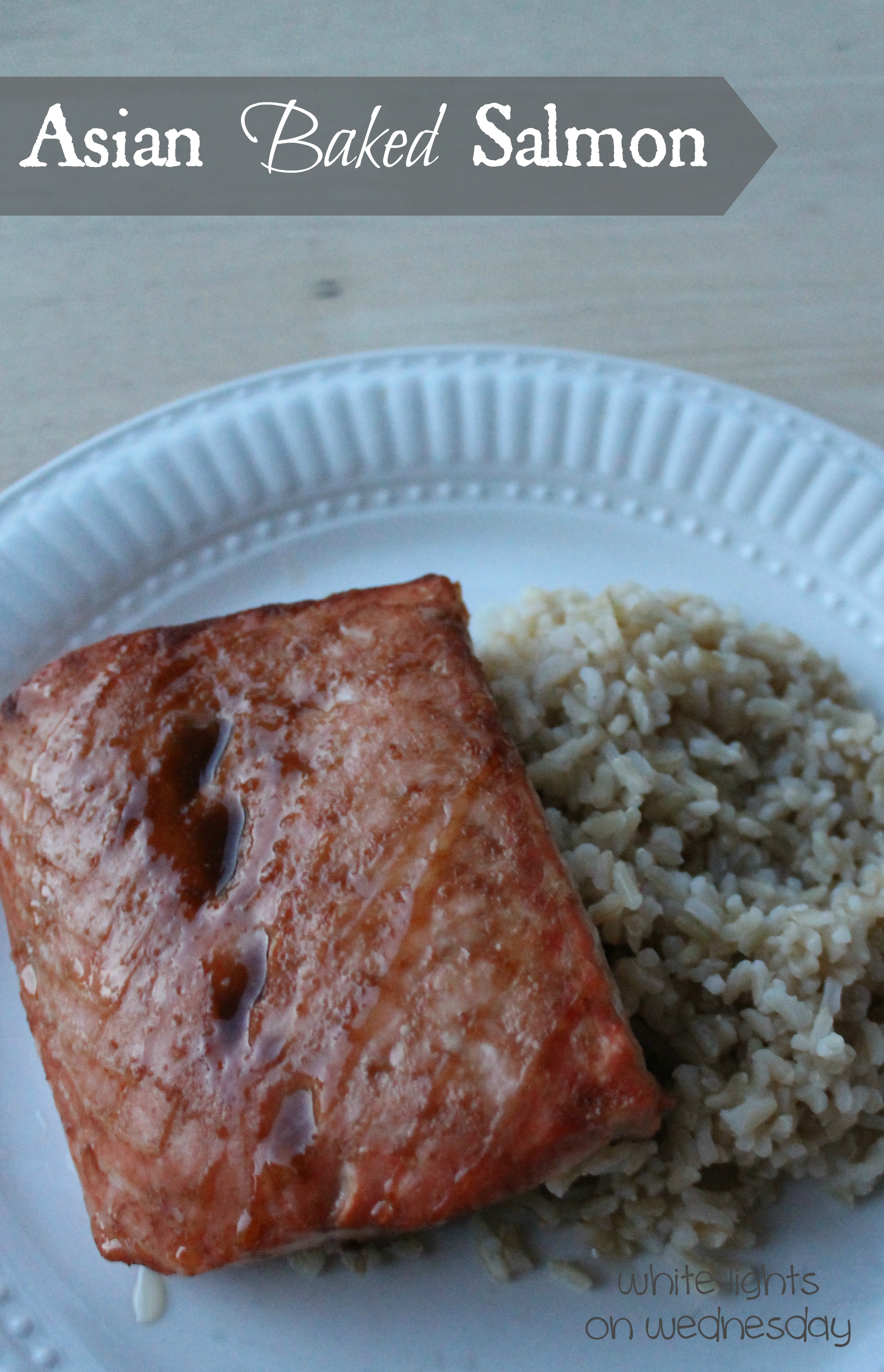 Asian Baked Salmon