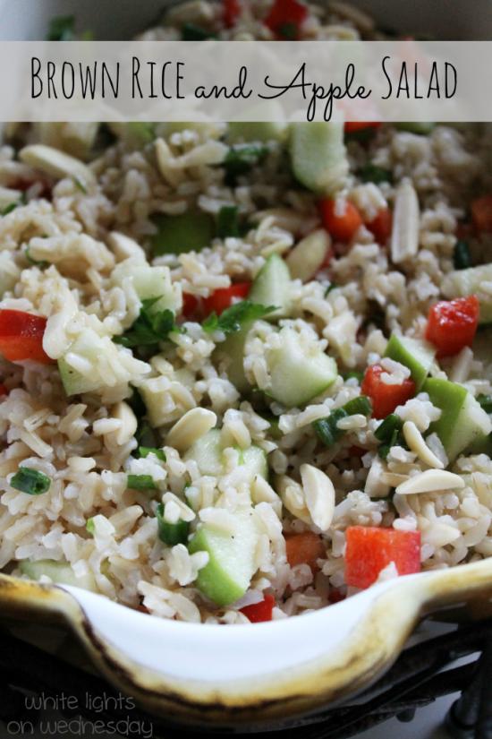 Brown Rice and Apple Salad 1