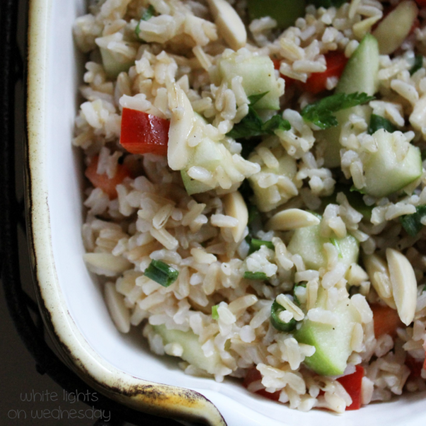 Brown Rice and Apple Salad 2