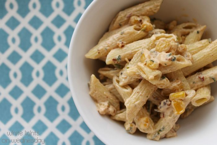 Chipotle & Roasted Corn Pasta Salad