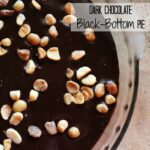 Dark Chocolate Black-Bottom Pie