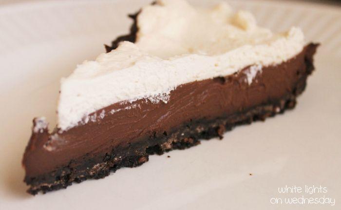 Dark Chocolate Black-Bottom Pie 4