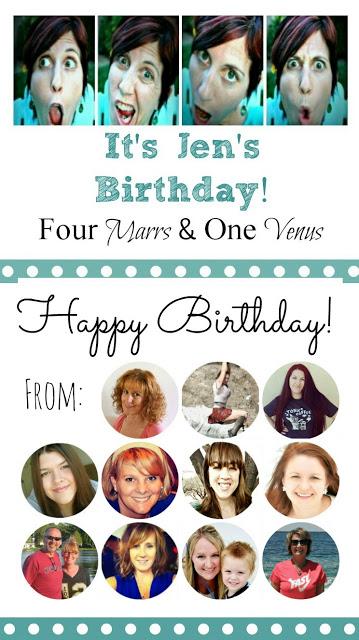 Jen's Birthday Collage 4