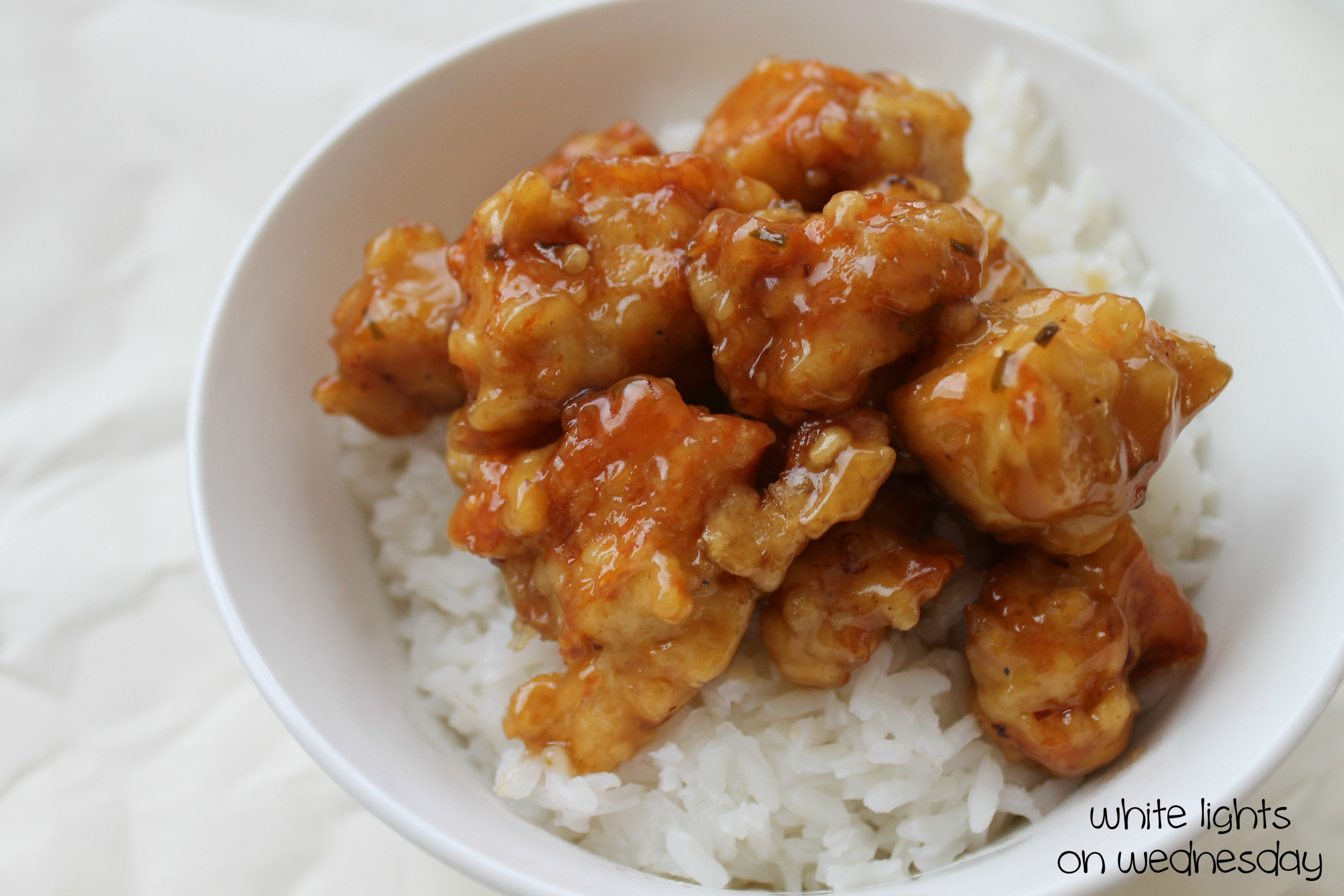 Orange Chicken Recipe — Dishmaps
