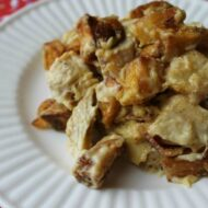Cheesy Adobo Chicken Hash