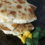Shrimp Mango Quesadillas