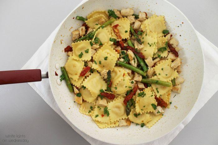 Skillet Chicken & Ravioli 1