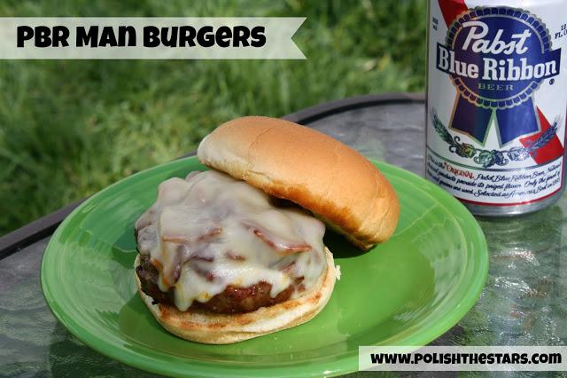 beer bacon burgers