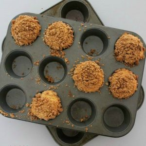 Biscoff Coffee Cake Muffins FEAT