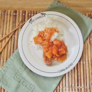 Crock Pot Sweet and Sour Pork Loin Chops