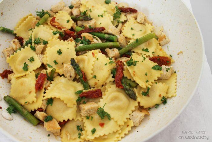 Skillet Chicken & Ravioli 2