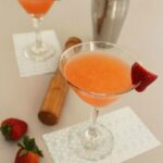 Strawberry Lemongrass Martini