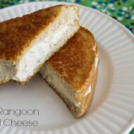 Crab Rangoon Grilled Cheese