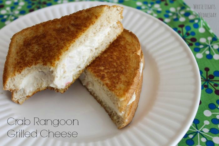 Crab Rangoon Grilled Cheese