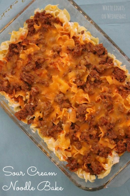 Sour Cream Noodle Bake 1