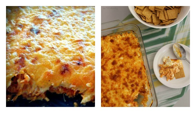mom's hot wing dip