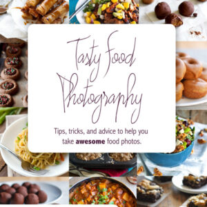 Win a Copy of Tasty Food Photography! Giveaway ends July 15th. Buy your own copy at 30% off - click for promo code.