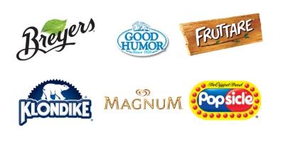 unilever brand collage