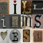 Family Name and Date Collage Tutorial