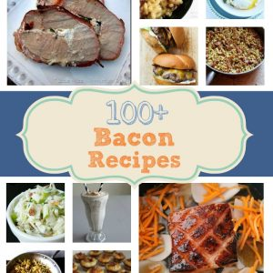 100+ Bacon Recipes FEAT