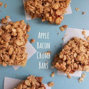 Apple Bacon Crumb Bars FEAT