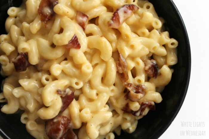 Bourbon Bacon Mac and Cheese 1